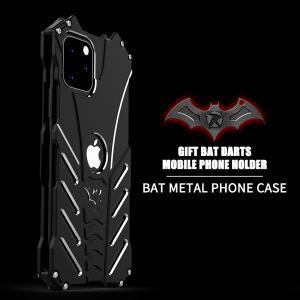 バットマン iphone 11 ケース Pro Max 5.8 6.1 6.5インチ アルミバンパー...