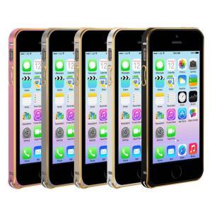 表面9Hガラス+アルミバンパー iPhone5 iphone5S iphoneSE アルミバンパー ケース 高品質人気アイフォン5S 耐衝撃|arunmui