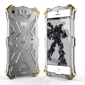 雷神THOR iphoneSE iphone5 iphone5S ケース S!MON 最強級金属合金カバーflashソールスマートフォンケース超頑丈かっこいい新登場|arunmui