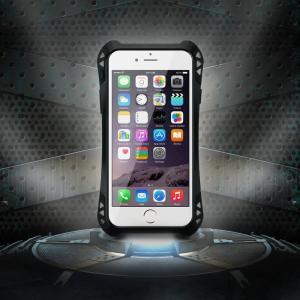 全方位武装 iPhoneSE ケース R-JUST 防滴防塵耐衝撃超頑丈最強レベル金属合金スマートフォンiphone5 iphone5S指紋認証可バンパーカバー|arunmui