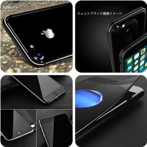 全面保護炭素繊維ガラスフィルム付き シリコン+メタルフレームiphone7 アルミバンパー iphone7plus ケース 透明背面プレート付き フレーム ストラップ穴付き|arunmui