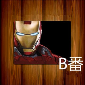 アイアンマン マウスパッド Iron Man 絵柄 格好いい印刷 パソコン周辺大人気個性|arunmui