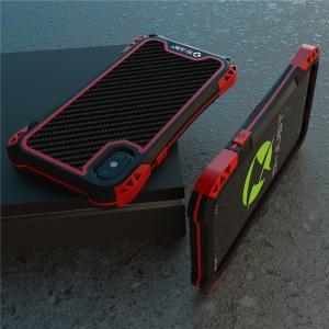 アイフォンX/iphoneXs 最強ケース、アミラ新発売  耐衝撃のメカニックなデザインの超かっこい...
