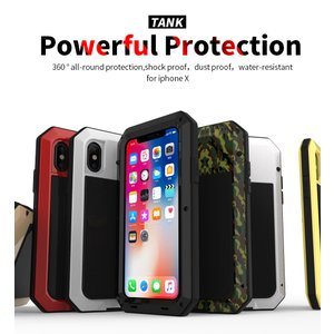 アイフォンX 最強ケース  耐衝撃のメカニックなデザインの超かっこいいタフネスiPhoneX ケース...