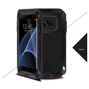 Galaxy S7edge ケース 史上最強アルミ合金カバーギャラクシーS7エッジ人気POWERFUL CASE 防振耐衝撃SC-02H SCV33