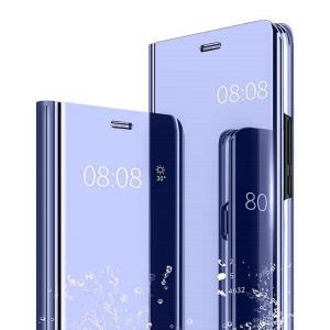 鏡面カバー SONY Xperia1ii Xperia1 Xperia5 レザーケース 半透明 メッ...