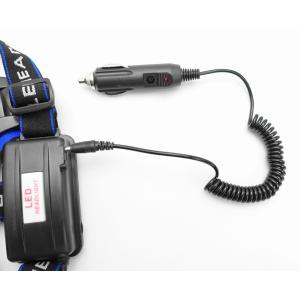 ヘッドライト充電ケーブル、シュガライター - 3.5mm 車載充電器|arusena39