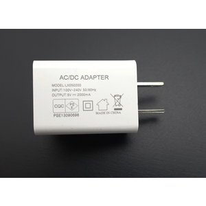 USB充電器 ACアダプター 急速充電器 5V 2.0A PSE認証 高速充電器 AC/DC iPhone/Android/AC001|arusena39