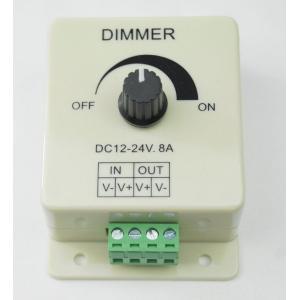 LED Dimmerコントローラー 調光器 8A 12v 24v兼用|arusena39