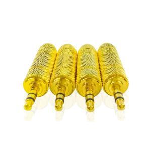 ヘッドフォン 6.5mm 変換 3.5mm 変換アダプター 6.5mm→3.5mm 1個|arusena39