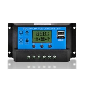 ソーラーチャージャー コントローラ 30A 12V/24V ソーラーパネル USB arusena39