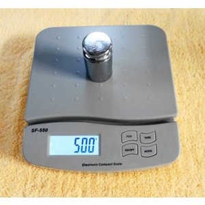 デジタルはかり/1g単位、25kgまで キッチンスケール SF-550