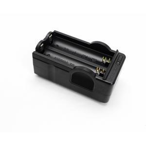 18650専用充電器 +ICR18650リチウ...の詳細画像2