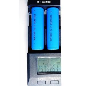 18650専用充電器 +ICR18650リチウ...の詳細画像4