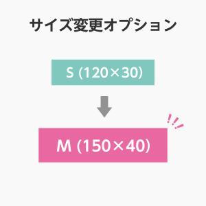 【オプション】サイズ変更 S(120×30)からM(150×40) 単品購入不可|arutesuta