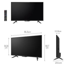 シャープ LED液晶テレビ 4T-C40AH2 40V型 4K対応 AQUOS アクオス 新品 送料無料|aruyan55|02