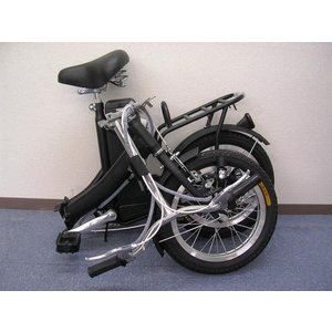 ★モペット版★電動機付き自転車(折りたたみ可能)「E-BIKE20」20インチ|aruzan|02