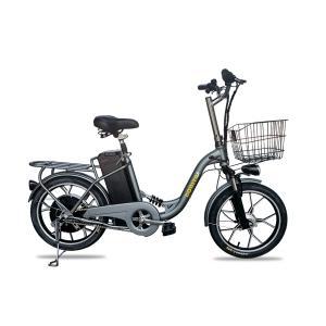 ★高速★48V大容量リチウムイオン電池★モペット電動自転車「...