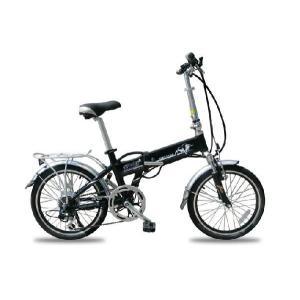 格納式Panasonic製リチウムバッテリー搭載!折りたたみモベッド型電動自転車「忍」20インチ