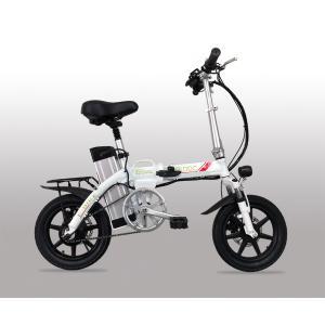 ★小型折りたたみ★フルアルミ大容量48Vモペット電動自転車S...