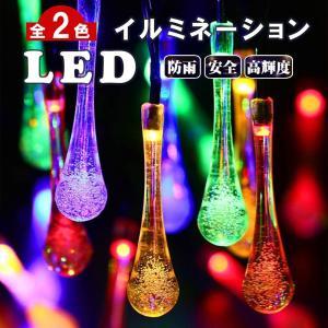 商品仕様  商 品 名:  照度センサー LED イルミネーション  (No.2-しずく-20球) ...