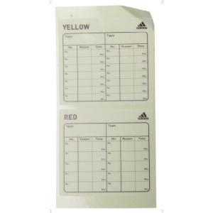 adidas(アディダス) レフリーカードステッカー JH401 アクセサリー 13Q3 as-y