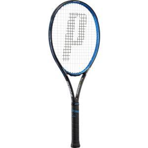 Prince(プリンス) 7TJ025 硬式テニスラケット ハリアープロ100XR−M(フレームのみ)ブラック×ブルー 17SS