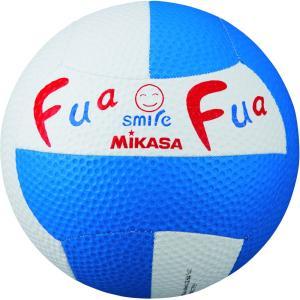 ミカサ(MIKASA) FFD2WB ドッジボール ふあふあドッジ2号縫い(白/青) 16SS|as-y