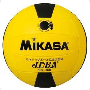 ミカサ(MIKASA) ドッジボール3号 MGJDB ボール キ/クロ 14SS|as-y