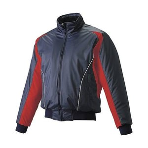 SSK ジュニア 蓄熱グラウンドコート フロントフルZIP 中綿 野球 グランドコート BWG1002J-7020W 15SS