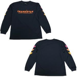 TRANSISTAR(トランジスタ) HB19TS01 NVY ハンドボール DRY 長袖Tシャツ GRADATION FLAG  NVY 19SS