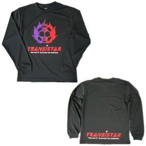 TRANSISTAR(トランジスタ) HB19TS24 BLK ハンドボール L/S ゲームシャツ  FIREBALL 19FW