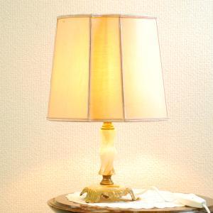 #2733bスタンド照明本物アンティーク照明1950年フランス原産テーブルランプ1灯本体オニキスPSE表示品PL保険付 as296