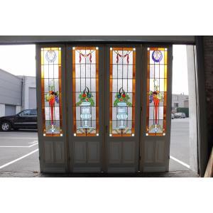 スタイル アールデコ 原産国 ベルギー 材質 グラス/オーク 年代 1920年代  サイズ  ミドル...