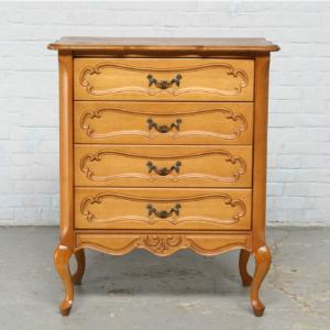 #7264 ヨーロッパ市場在庫品 アンティーク家具 チェスト 1940年代 ベルギー原産 ウォールナット製|as296