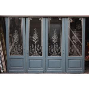 スタイル ルイ15世 原産国 フランス 材質 グラス 年代 1890年代  サイズ:295cm/74...