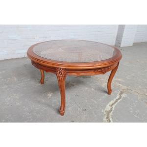 #8907 ヨーロッパ市場在庫品 アンティーク家具 コーヒーテーブル 1940年代 ベルギー原産 ウォールナット製|as296
