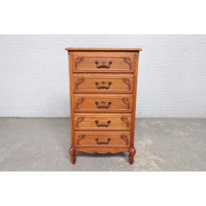 #9016 ヨーロッパ市場在庫品 アンティーク家具 チェスト 1920年代 ベルギー原産 オーク製|as296