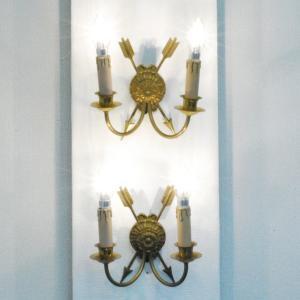 #wl1915壁掛ウォールランプ本物アンティーク照明1930年ベルギー原産本体材質ソリッドブラス製PSE表示品PL保険付 as296
