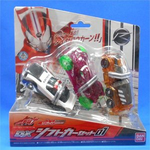 仮面ライダードライブ DXシフトカーセット01|asada
