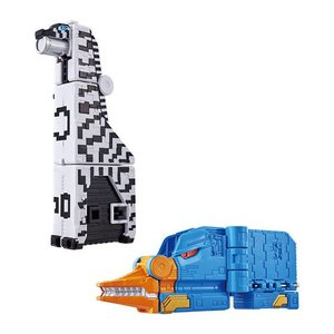 動物戦隊ジュウオウジャー ジュウオウキューブウエポンEX 動物武装キューブシマウマ&キューブカモノハシセット|asada
