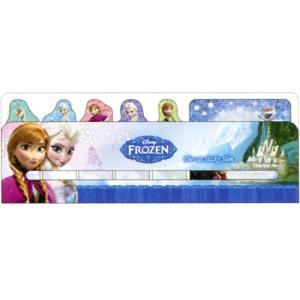 アナと雪の女王 ダイカット付箋スリム DC FR2 A柄 S2064758|asada