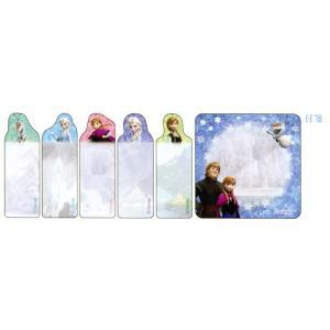 アナと雪の女王 ダイカット付箋スリム DC FR2 A柄 S2064758|asada|02