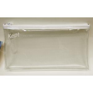 Kept クリアペンケース ホワイト KPF603W|asada