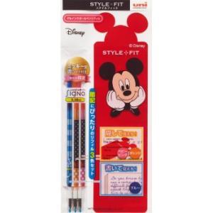 三菱鉛筆 スタイルフィット ディズニーシリーズ リフィル3色セット UMR-129DS-383CB|asada