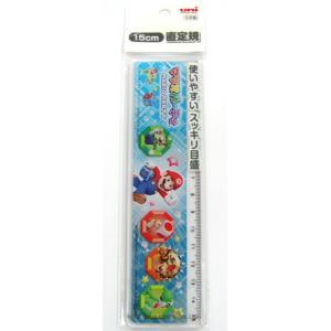マリオパーティ 15cm 直定規 DJT15-200 MPI|asada