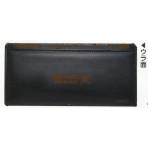 ワンピース フラップ型長財布 ブラック 15838|asada|02
