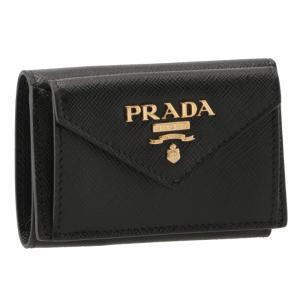 プラダ PRADA 2019年春夏新作 三つ折り財布 ミニ財布 サフィアーノ 三つ折り財布 1MH021 QWA 002