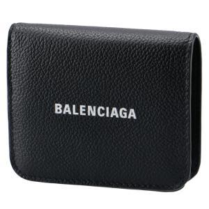 SALE バレンシアガ BALENCIAGA 財布 二つ折り ミニ財布 ロゴ キャッシュ フラップウォレット 二つ折り財布 594216 1IZIM 1090|asafezone