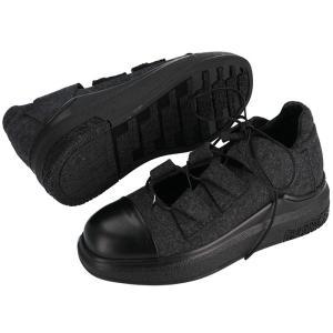 チンツィアアライア CINZIA ARAIA 靴 スニーカー フェルト×カーフスキン CA233 506N 0001 asafezone